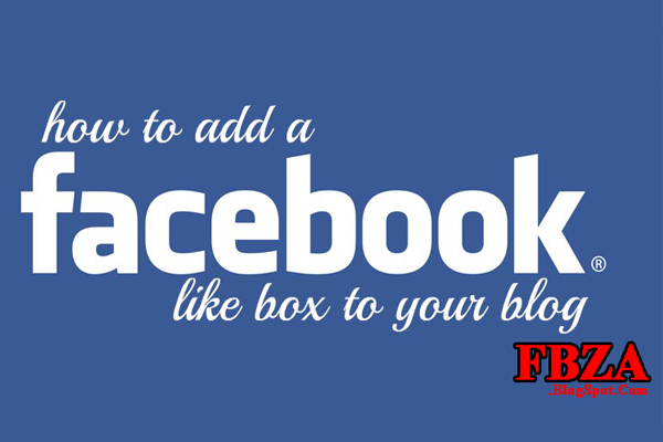 How to Add Like Box on Facebook Fan Page To Blogger