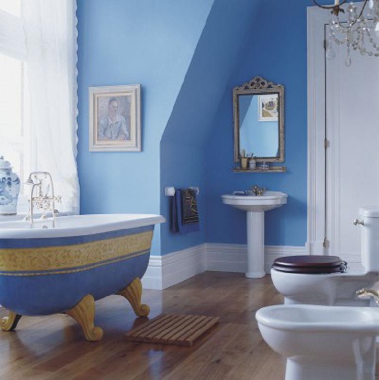 Baño Azul Decoracion:Decoración Cuarto de Baño Azul – Decoración del hogar y el diseño