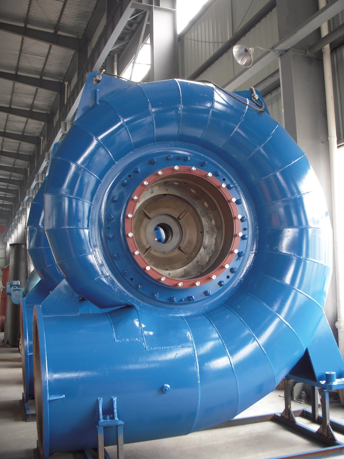 the hydraulic turbines A hydraulic drive system is a quasi-hydrostatic drive or transmission system that uses pressurized hydraulic fluid to power hydraulic machinerythe term hydrostatic refers to the transfer of energy from pressure differences, not from the kinetic energy of the flow.