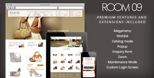 Room 09 Shop – Multi-Purpose e-Commerce Theme