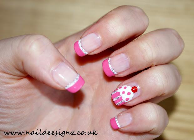 naildeesignz cupcake nails
