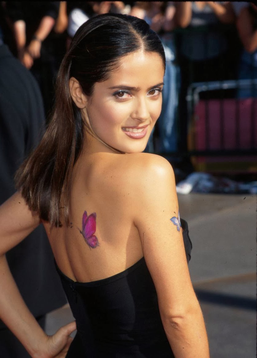 Salma Hayek Tattoojpeg