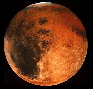 masa lalu planet mars