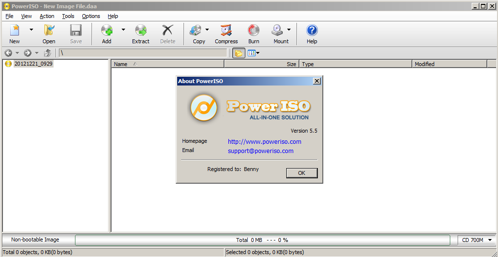 Download Power ISO 5.5 Full With Keygen
