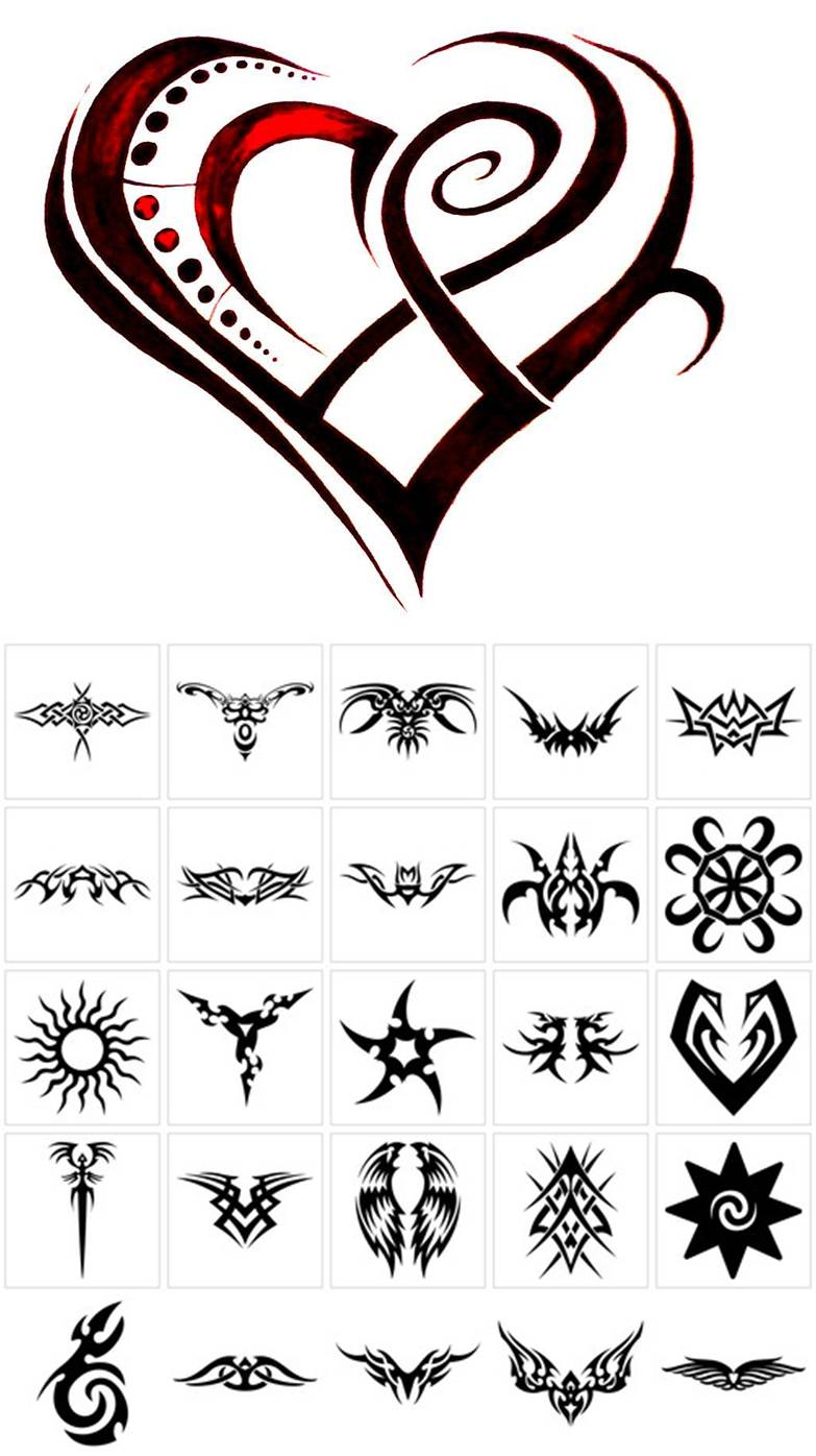 Tribal tattos 2013 tribal tattoos for girls for Tattoo ideas and meanings
