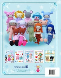 Huggy Dolls 2 Amigurumi Crochet Patterns book (Amazon.com)