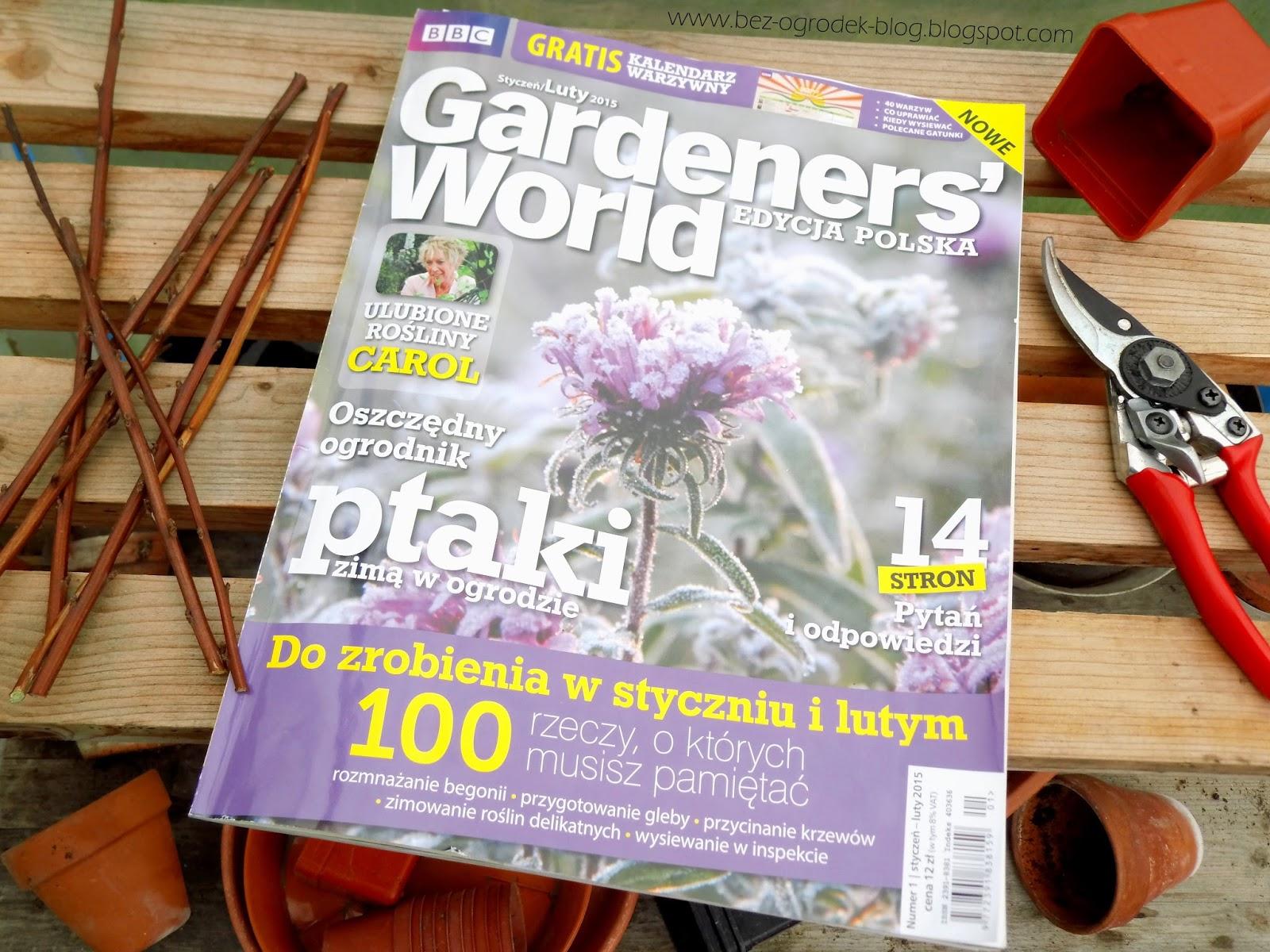 nowe pismo ogrodnicze, recenzja pierwszego numeru