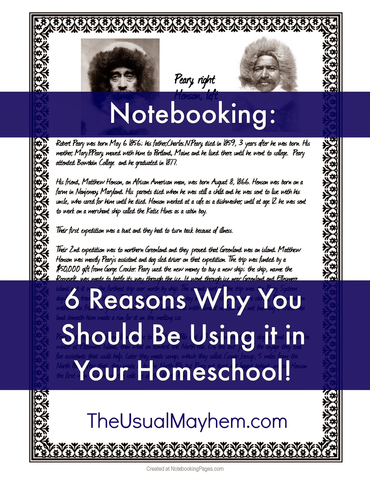 Reasons why you should use notebooking in your homeschool the