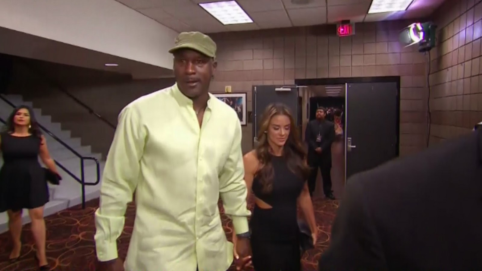 Michael Jordan - Mayweather vs Pacquiao in Las Vegas