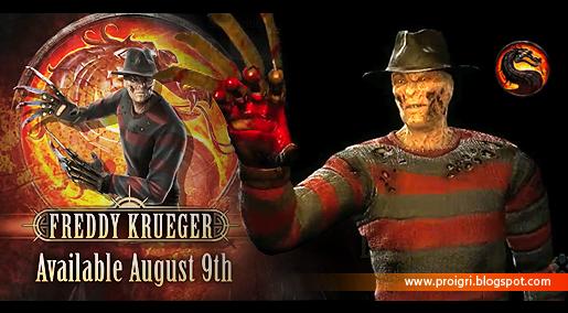 Freddy Krueger, новый загружаемый персонаж. DLC