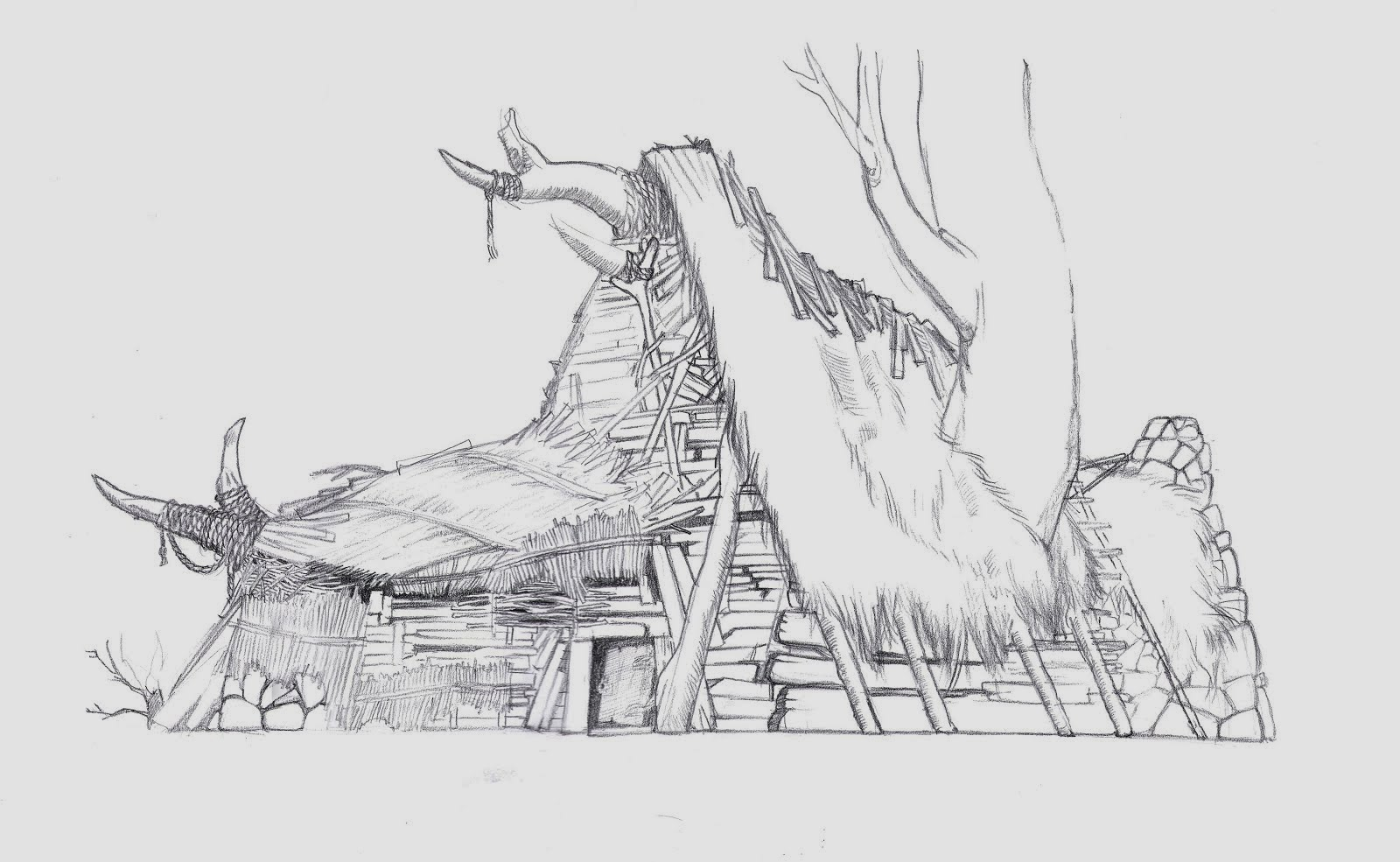 Barbarian House Design II, Conan The Barbarian, 2011