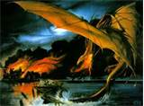 smaug dragon hobbit
