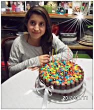 Torta 13 años de Tamara