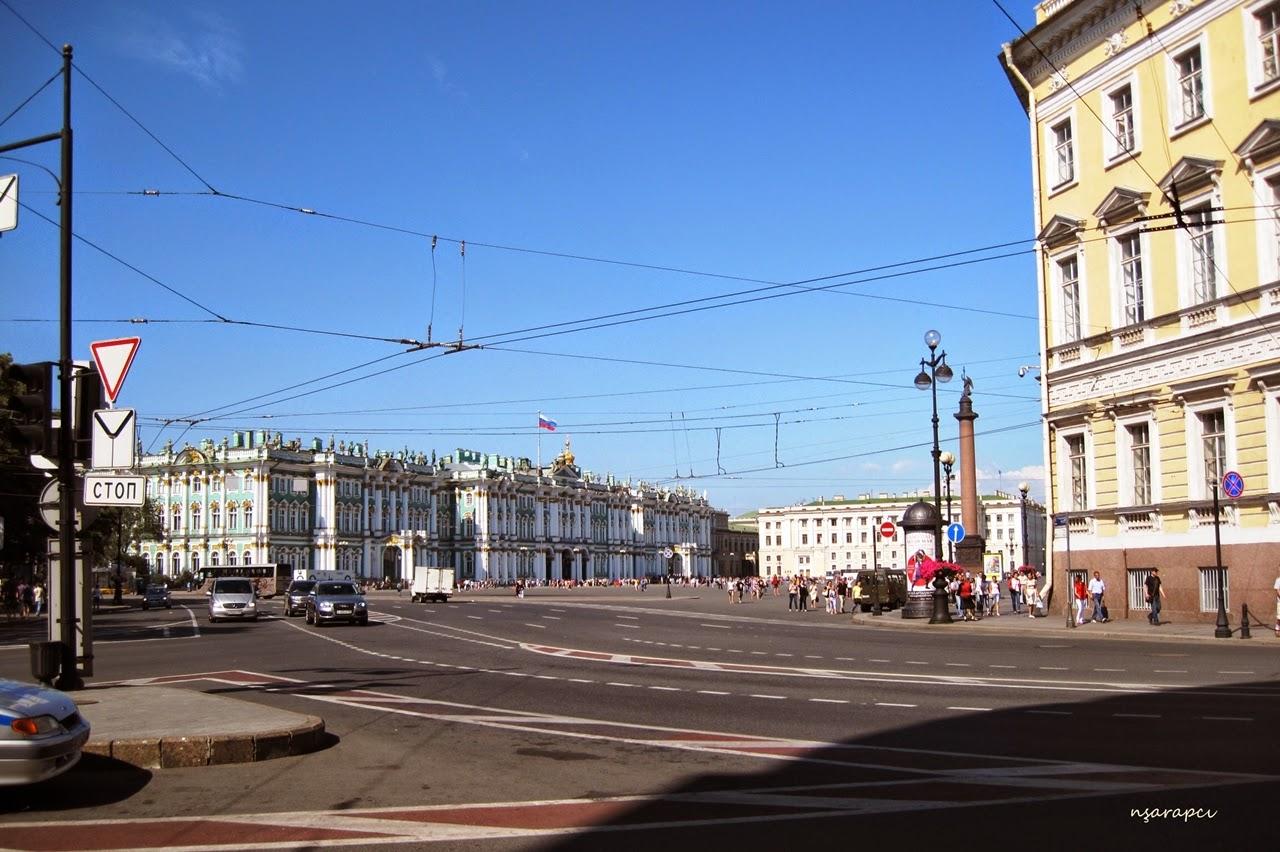 St Petersburg sokakları. Uzak Doğu Caddesi