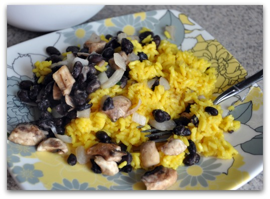 food jag favorite black beans and yellow rice