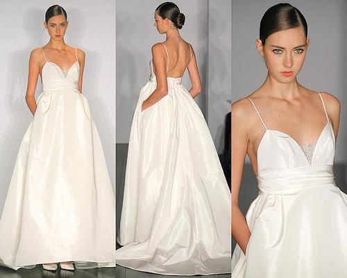Fashion world wedding dresses by vera wang fashion world for Vera wang beach wedding dress
