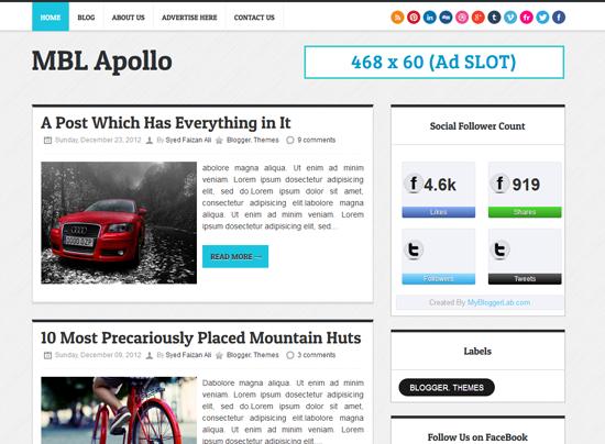 OHBlogger Blogspot Malaysia - Template Blogger Profesional Templateism