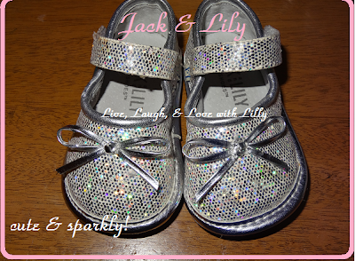 Jack and Lily review, shoes, glitter sparkly shoes, Live, Laugh, & Love with Lilly