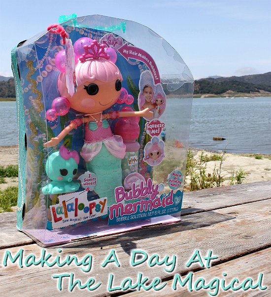 LaLaLoopsy Bubbly Mermaid Pearly Seafoam Doll