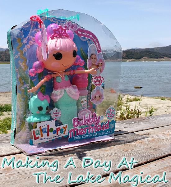 LaLaLoopsy Bubbly Mermaid Pearly Seafoam Doll