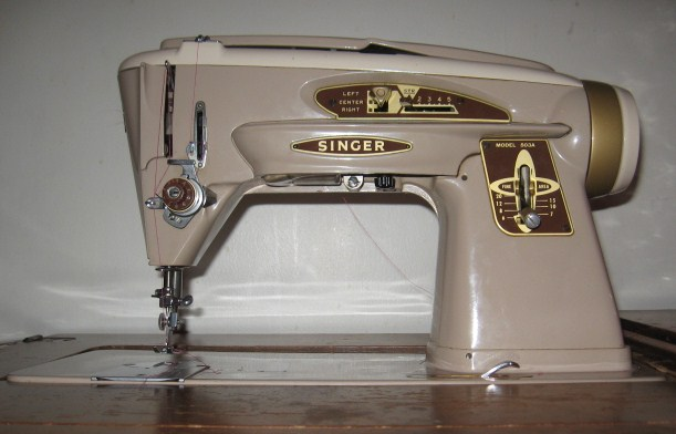 SlantOMatic Fanatic My Name Is Sugar And I Am A Singer SlantO Gorgeous Matic Sewing Machine
