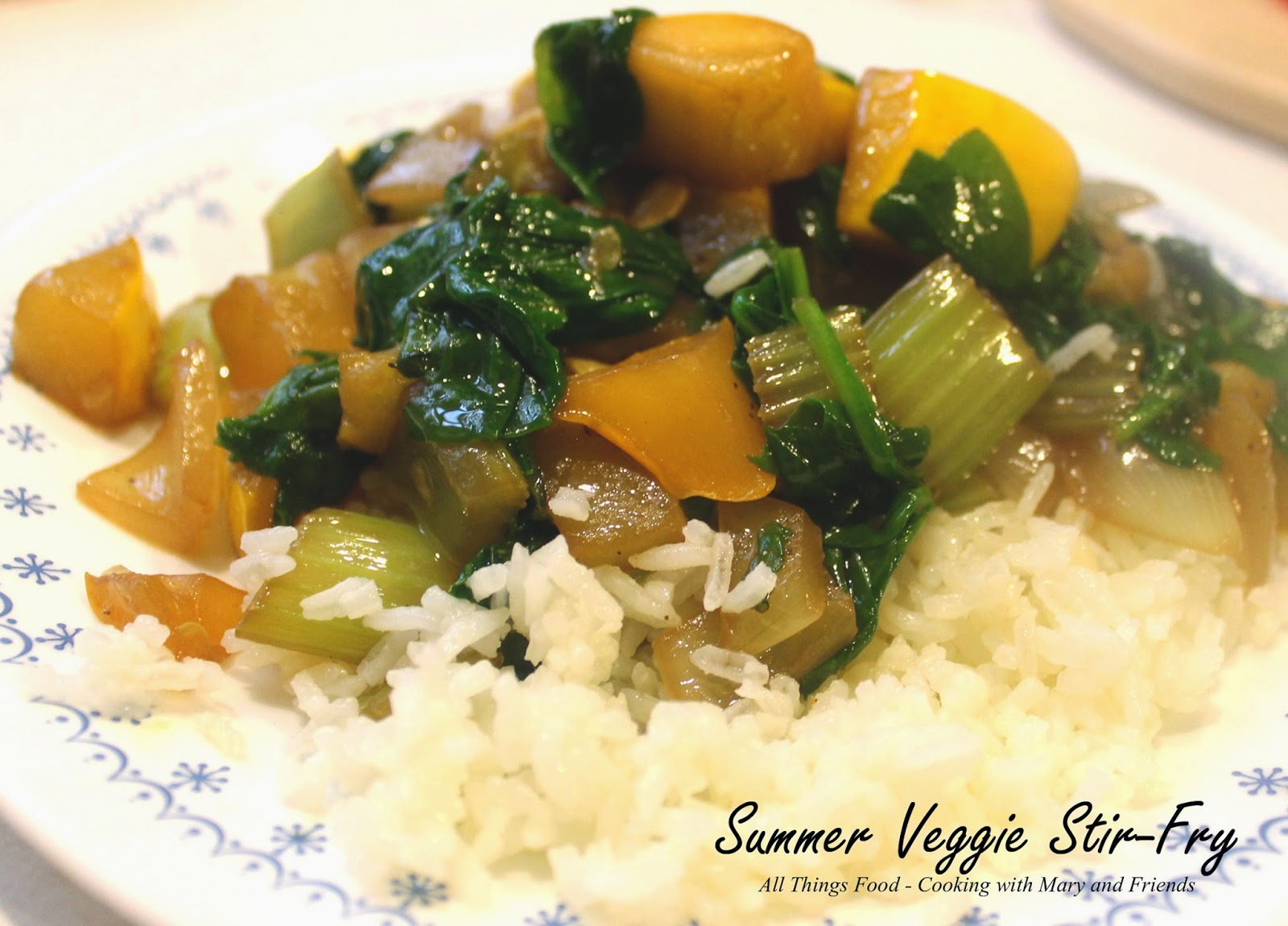 Cooking With Mary and Friends: Summer Veggie Stir-Fry