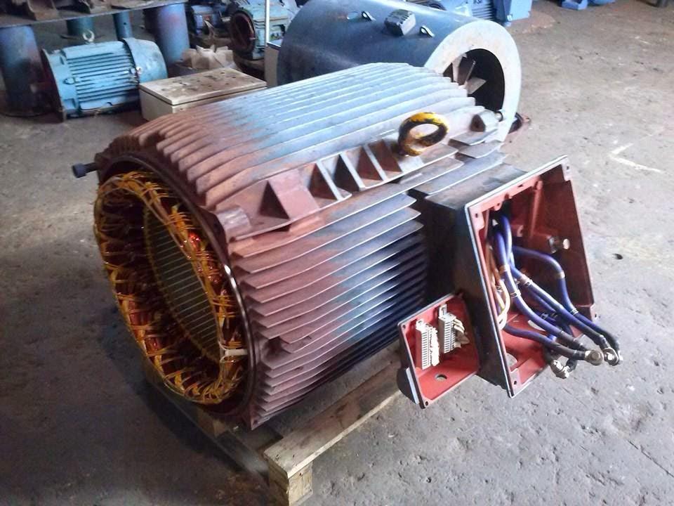 sửa chữa động cơ điện