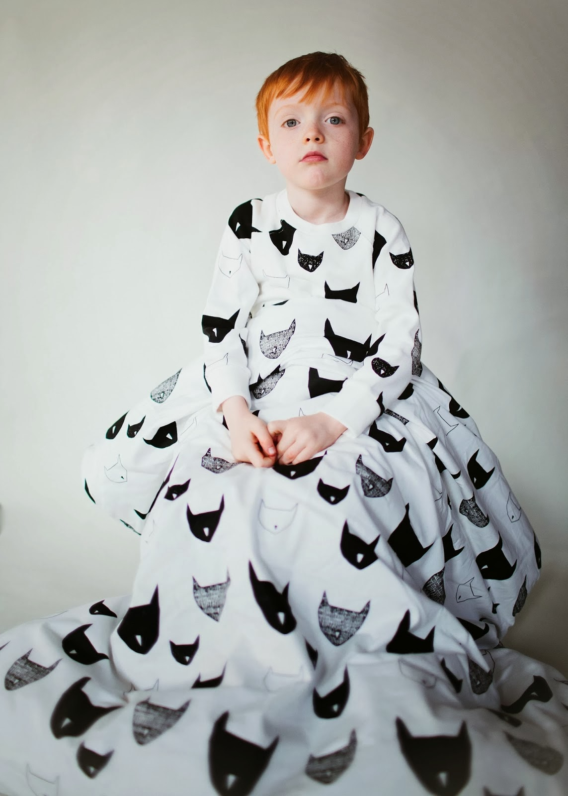 Beau Loves bed linen - kids fashion photography by Flannery O'Kafka for spring 2014