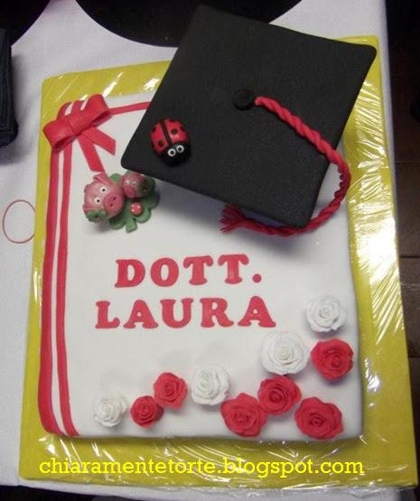 Conosciuto CHIARAmenteTorte!: La Laura si Laurea! Una Torta col Tocco  ZK45