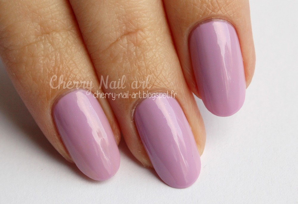 vernis City color 016 Parme
