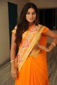 Midhuna New photo session in Saree-thumbnail-2