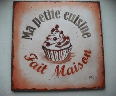 Tableau d coratif style affiche vintage pour cuisine ou for Affiche decoration cuisine
