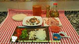 Receta fácil de arroz con pollo y marisco