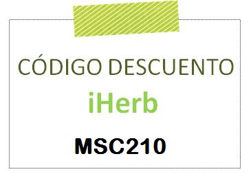 Código descuento para comprar en IHerb