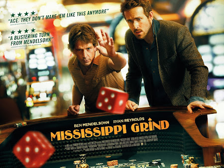 Poster Of Hollywood Film Watch Online Mississippi Grind 2015 300MB BRRip 480P HD In English Free Download