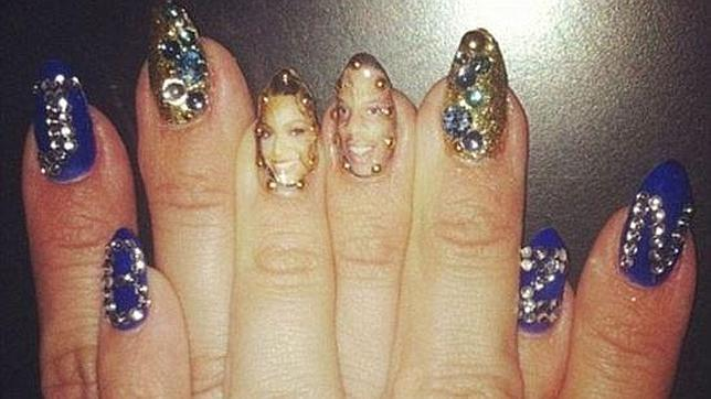 A medium curly haircut side view