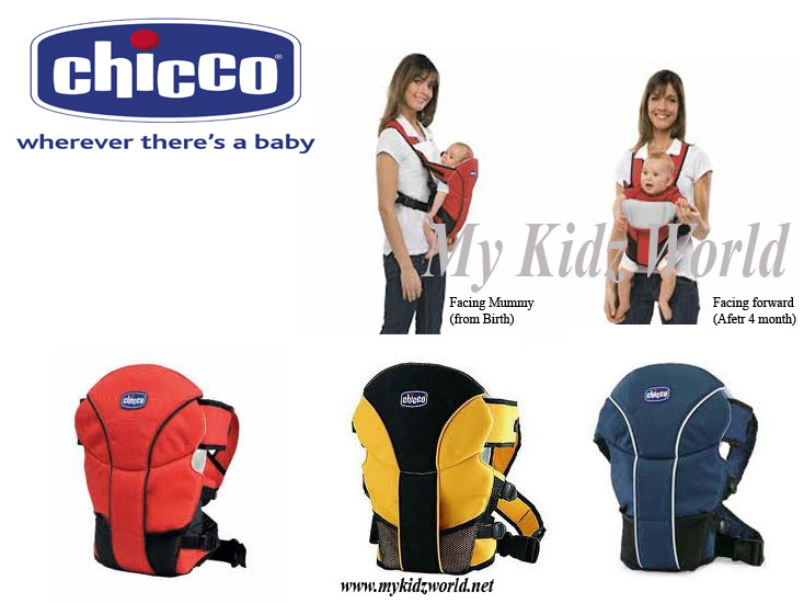 chicco baby carrier how to wear