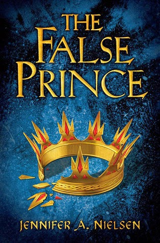 the cover of The False Prince by Jennifer A. Nielsen
