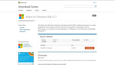 Kinect for Windows SDK, Miscellaneous Programming Tools
