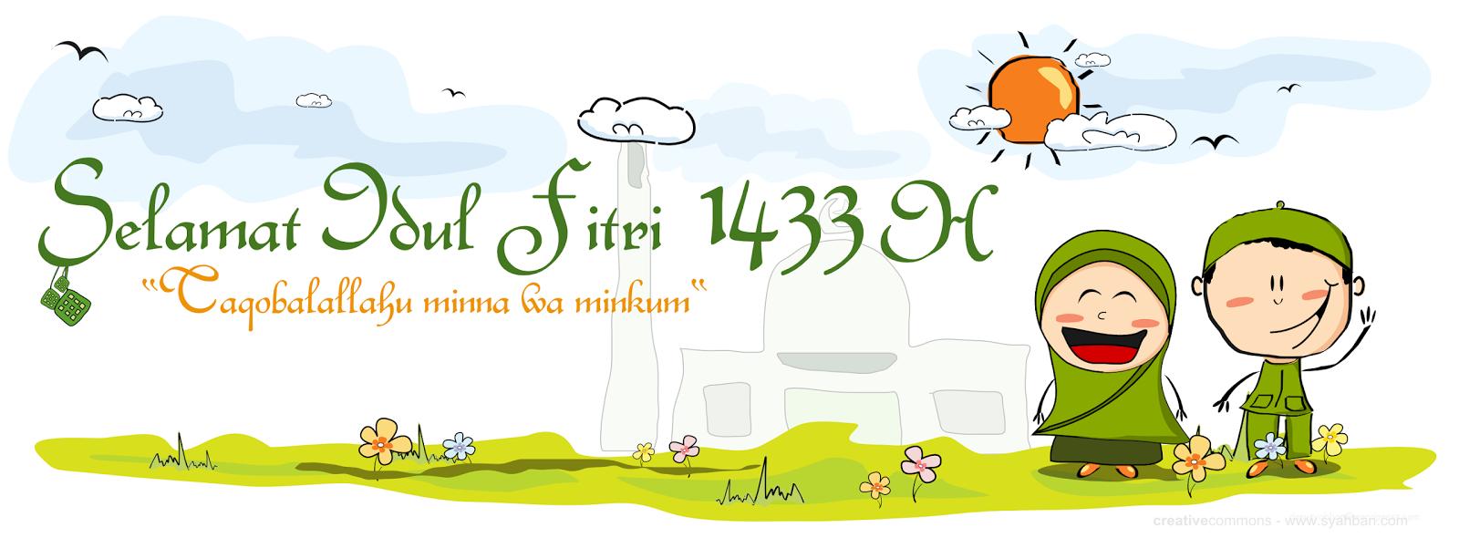 Image download ucapan lebaran selamat hari raya idul fitri 2012 1433h