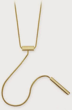 Kitsch's Double Bar Y-Shaped Necklace