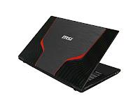 MSI GE60 0NC gaming laptop