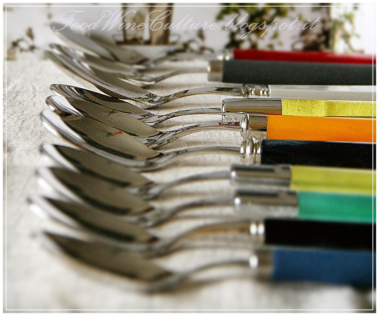 Food Styling e Tecniche di Servizio con gli oggetti della Casa di Menini di Sestri Levante