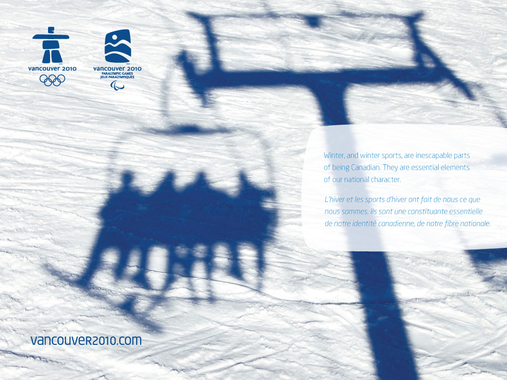 free vancouver 2010 olympic winter games powerpoint background 9