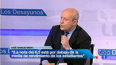 El ministro de Educación, en Los Desayunos de TVE