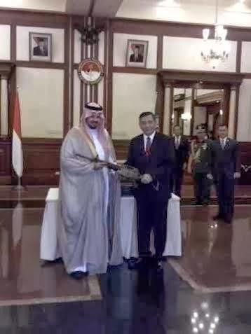 Wamenhan Arab Saudi Jajaki Kerjasama Kendaraan Tempur dengan Indonesia