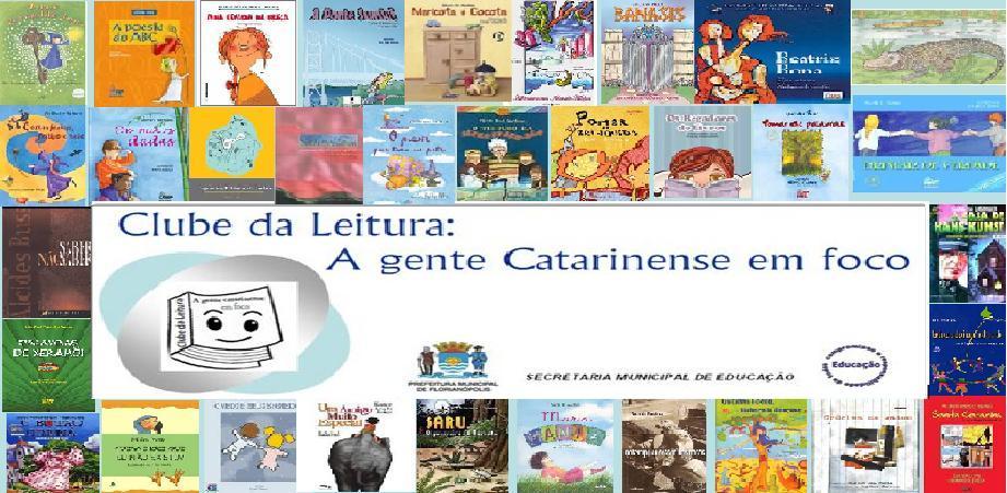 CLUBE DA LEITURA: a gente catarinense em foco