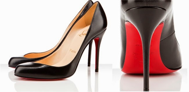 Zapatos Louboutin, con su típica suela roja