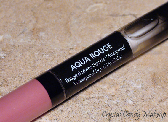 Rouge à lèvres liquide waterproof Aqua Rouge #15 Pink de Make Up For Ever (MUFE)