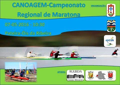 Distrital de Maratonas de Canoagem em Óis da Ribeira